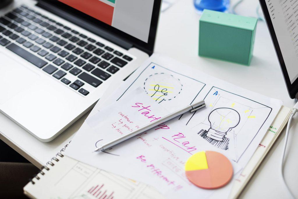 business startup plan marketing ideas PPPHJM2
