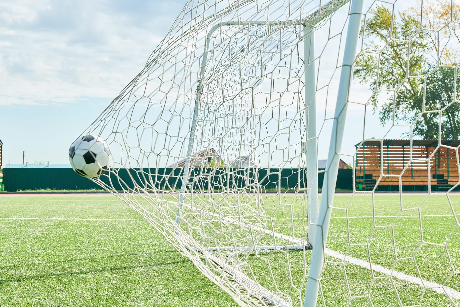 football goal Q6ATH8Y